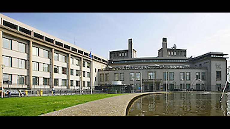 Krigsförbrytartribunalen i Haag. Foto: Cris Toala Olivares/Scanpix.