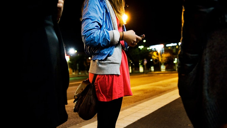 Ungdomar på stan. Foto: Annika af Klercker/Scanpix.