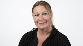 Caroline Åslund, trafikreporter. Foto: Björn & Eva Dalin/Sveriges Radio