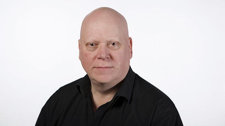 Lasse Lindell, trafikreporter och sändningsledare. Foto: Sveriges Radio