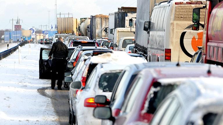 Bilkö på vintern. Foto: Foto: Johan Nilsson / Scanpix