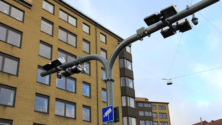 Betalstation för trängselskatt Göteborg. Foto: Transportstyrelsen