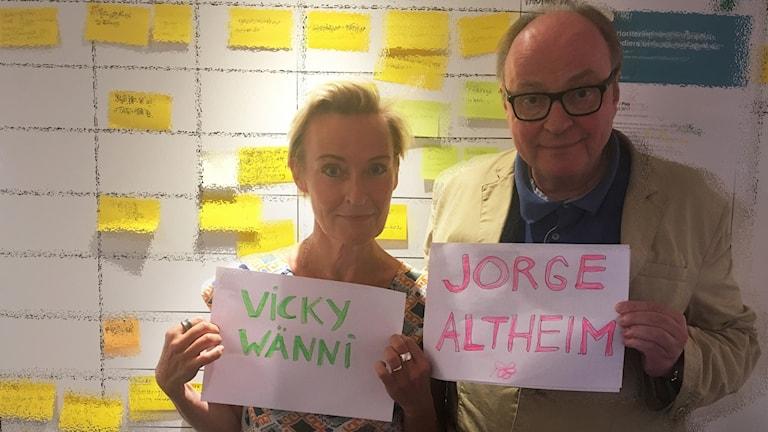 Pitäisikö juontajien vaihtaa ruotsalaisemmat nimet?