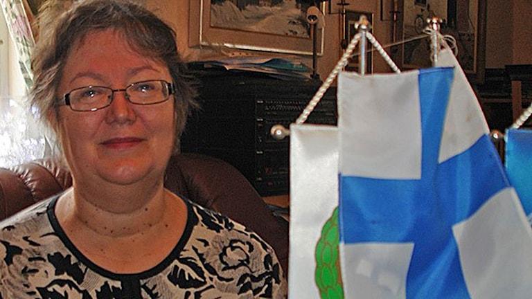 Finspångilainen Leila Marttila.