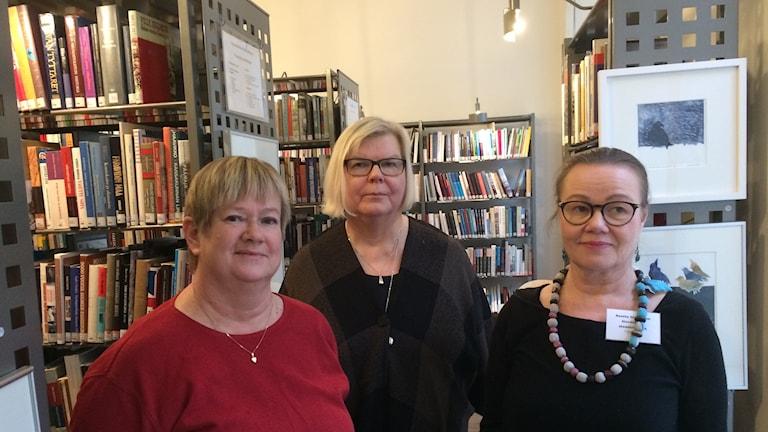 Pirjo Rinne (oik.), Ritva Nykänen ja Reetta Stenström.