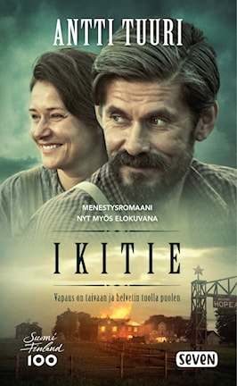 Antti Tuurin Ikitie-romaanin kansikuva