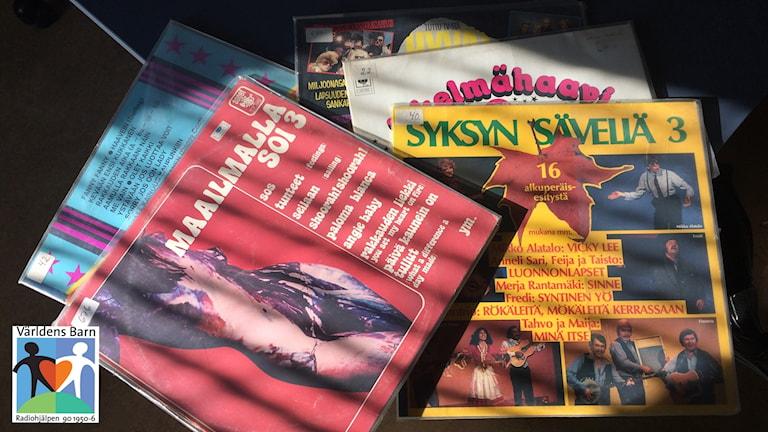 Vinylskivor auktioneras ut till förmån för världens barn