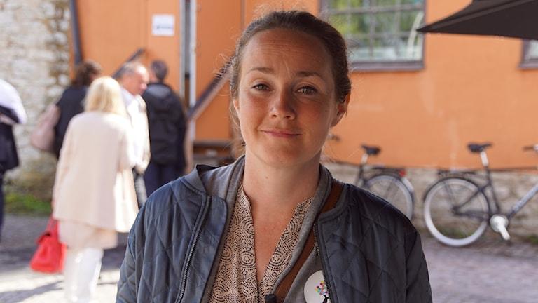 Projektipäällikkö Elina Blomberg Kompis Sverige