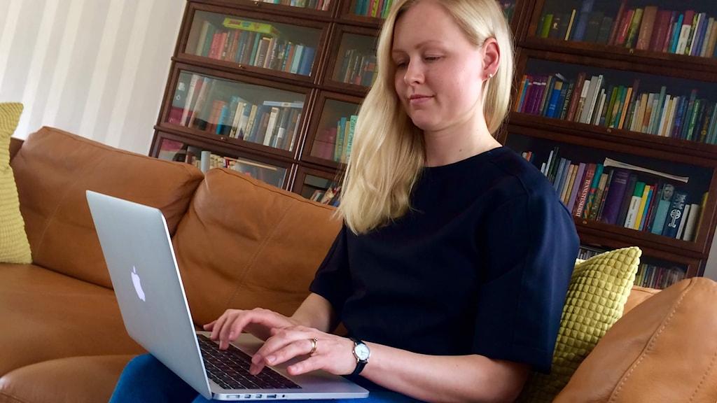 Sandvikenilainen Krista Valtonen suunnittelee perheen muuttoa