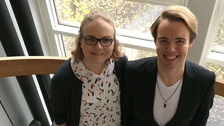 Johanna Jokela ja Hannu Lehtinen.