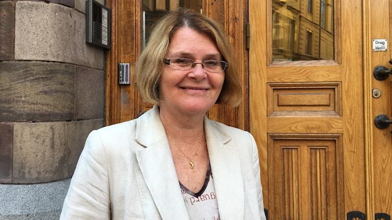 Auli Sydfors on Tukholman Suomeninstituutin tiedottaja