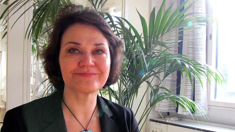 Marjaana Lehmonen Nilsson. Foto: Christian Bertell