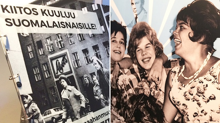 Affischer med kvinnor