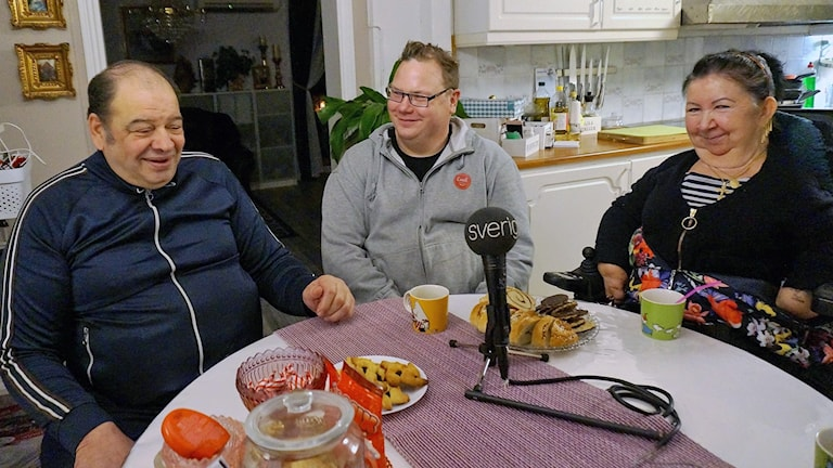 Aarne Schwartz, Marko Taimi ja Leila Annikki Airissalo Heikkilä.