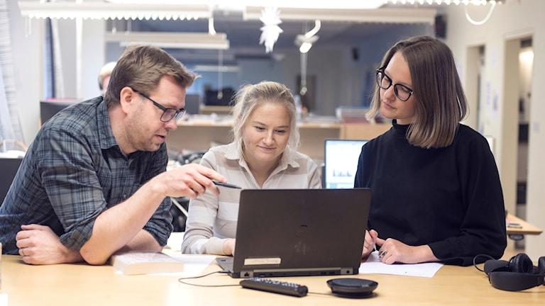 Taneli Männikkö, Hinni Hirvonen, Liina Johansson