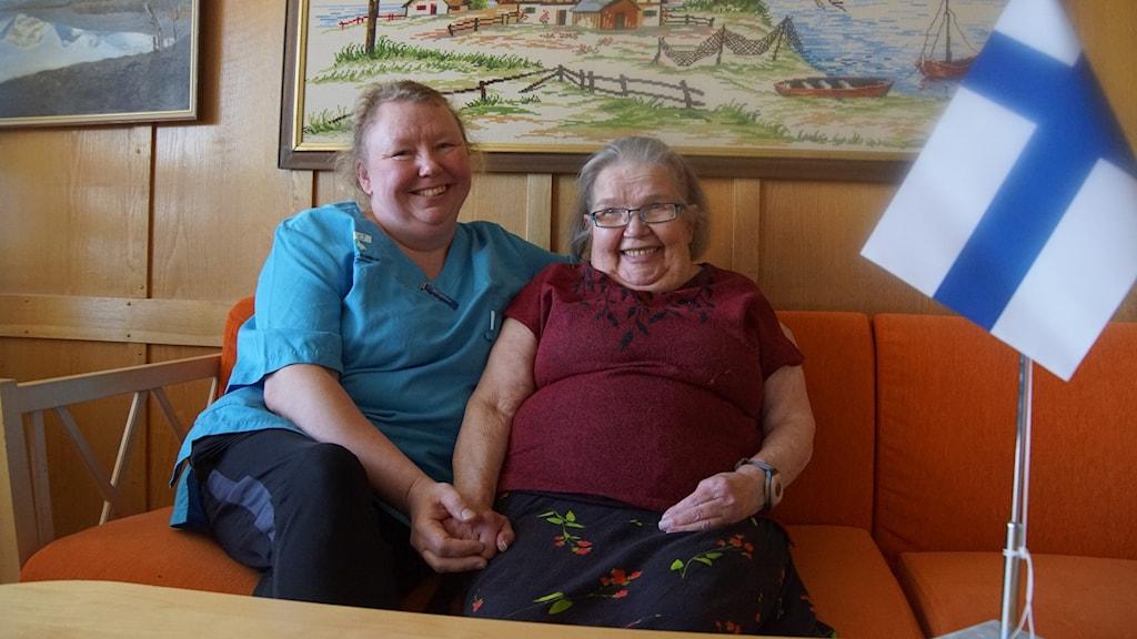 Birgitta Johansson ja Eva Fors