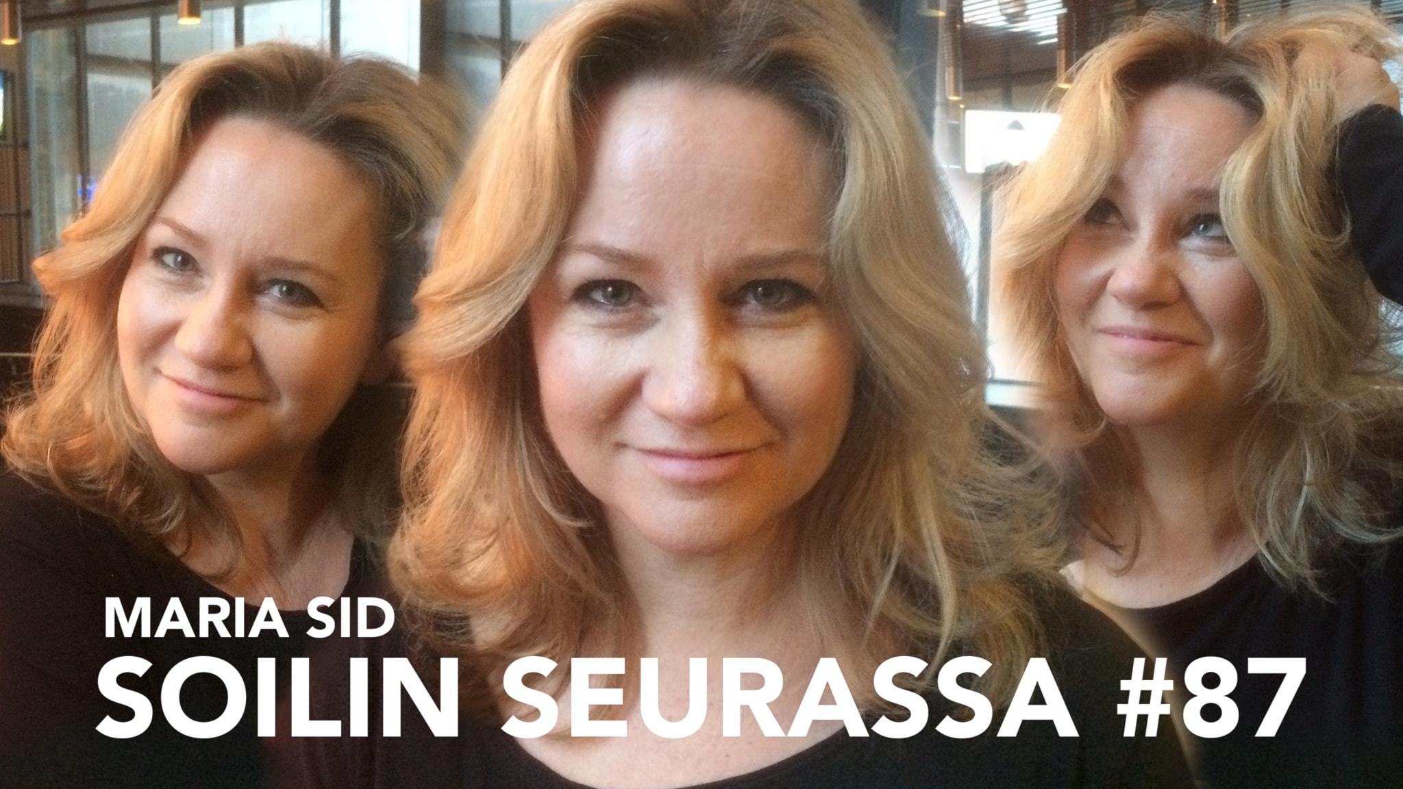 Näyttelijä ja ohjaaja Maria Sid: Etsin aitoa tunnetta