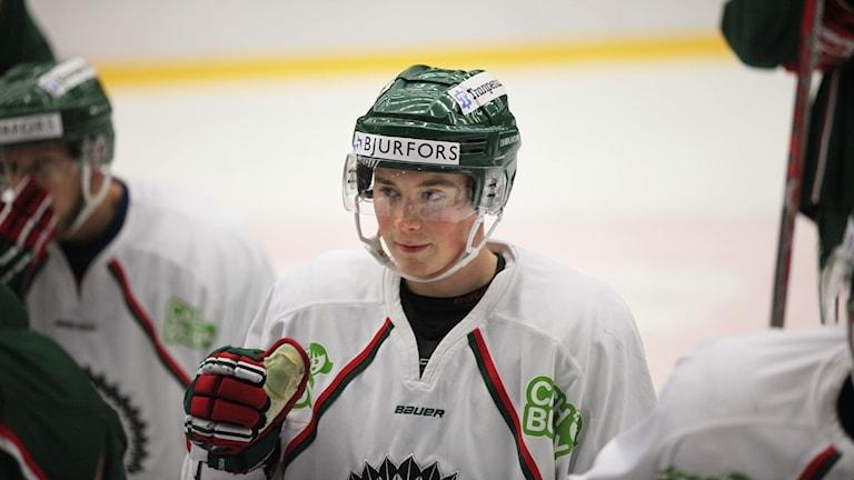 Jääkiekkoilija Joel Mustonen