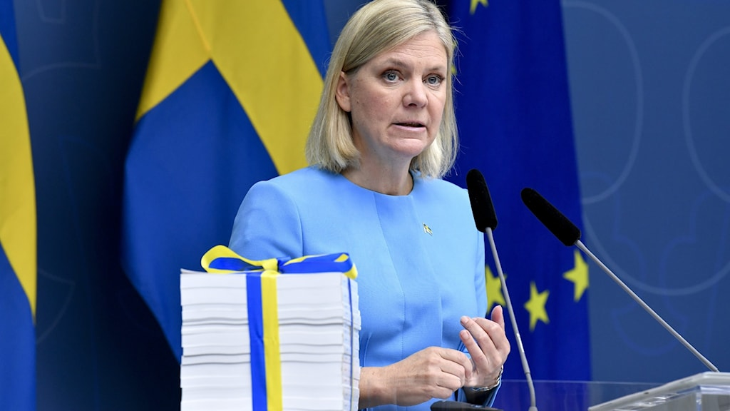 Finanssiministeri Magdalena Andersson