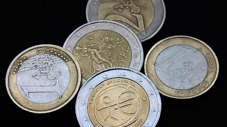 Neljäsosa suomalaisista haluaa vaihtaa eurot markkoihin. Kuva/Foto: Louisa Gouliamaki/ Scanpix.