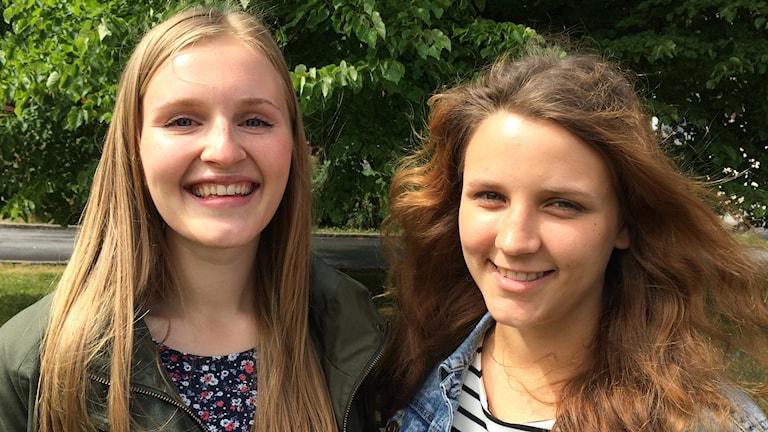 Katarina Tanskanen och Erika Tuominen nordjobbar i Sthlm