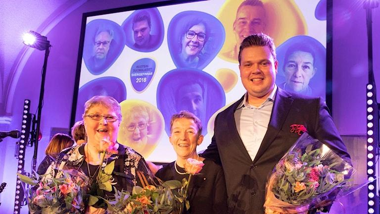 Marja-Leena Paananen, Janina Orlov, Daniel Ståhl