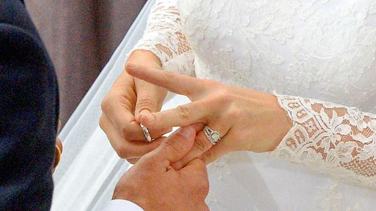bröllop fixad