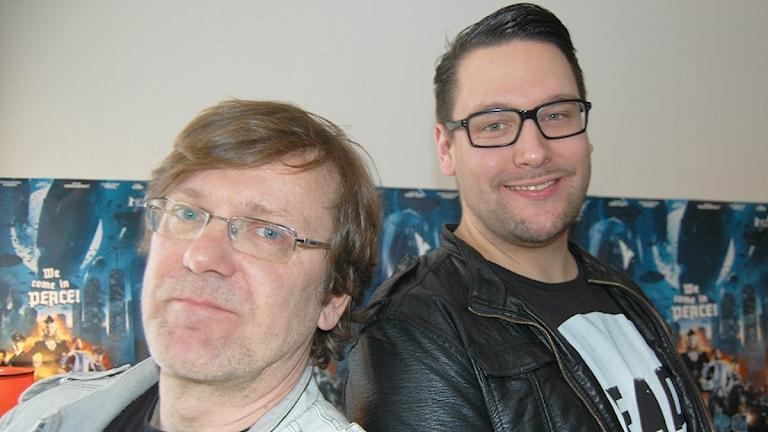 Tero Kaukomaa, Timo Vuorensola, foto: Christian Bertell, Sisuradio