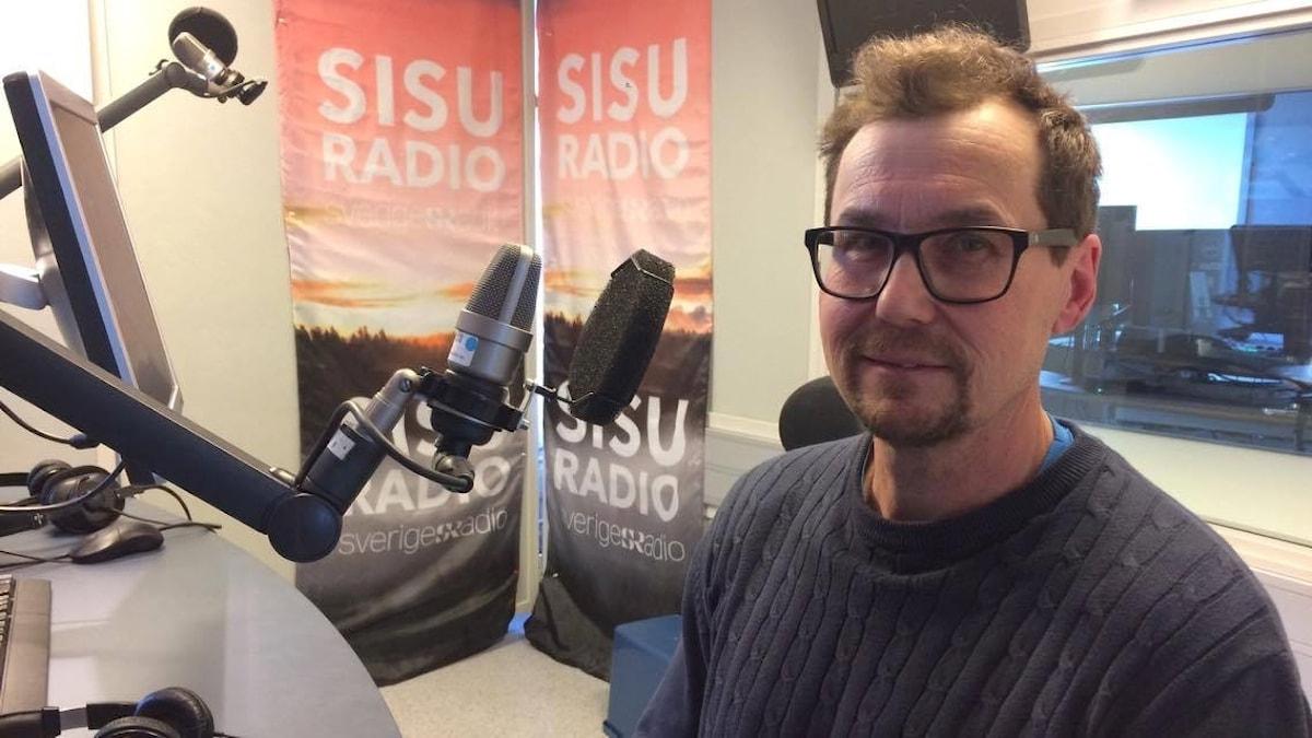 Mäkihyppyharrastaja Jyrki Pöllänen
