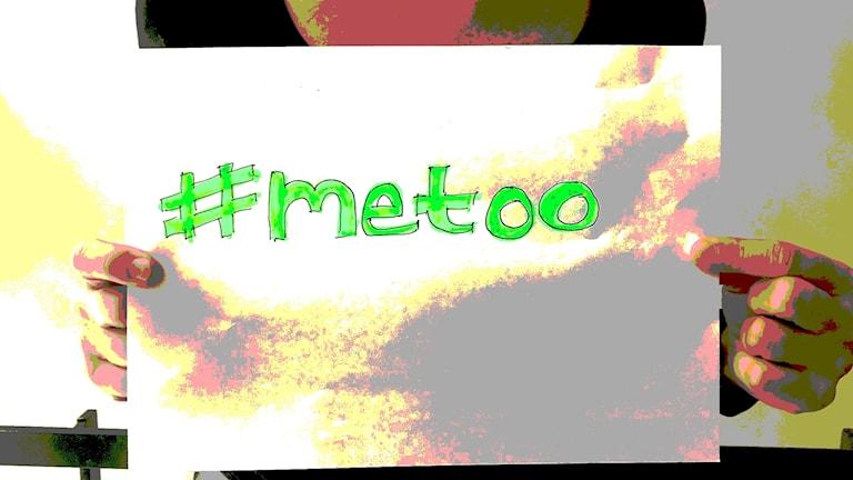 #metoo- kampanja, kyltti