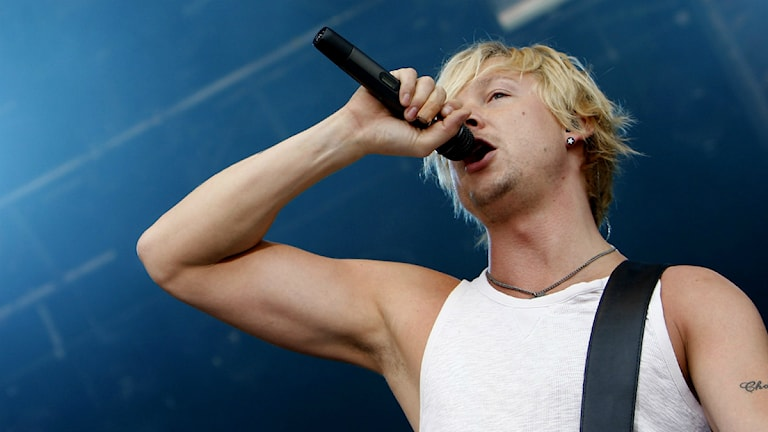 Samu Haber, Sunrise Avenue. Foto: AP Photo/Keystone/Jean-Christophe Bott