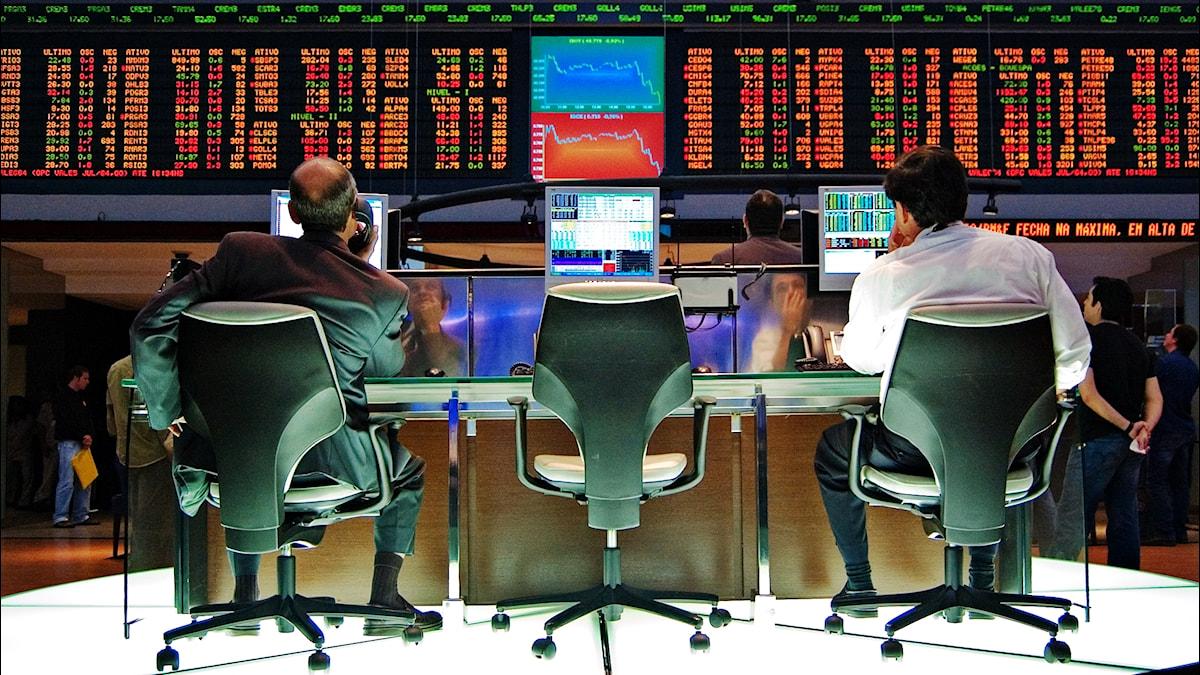 Sao Paolon pörssi.