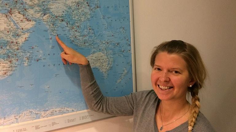 Sri Lanka on Annukka Pekkariselle nykyisin hyvin tuttu. Hän on viettänyt siellä väitöskirjansa kenttätöissä kuukausitolkulla aikaa.