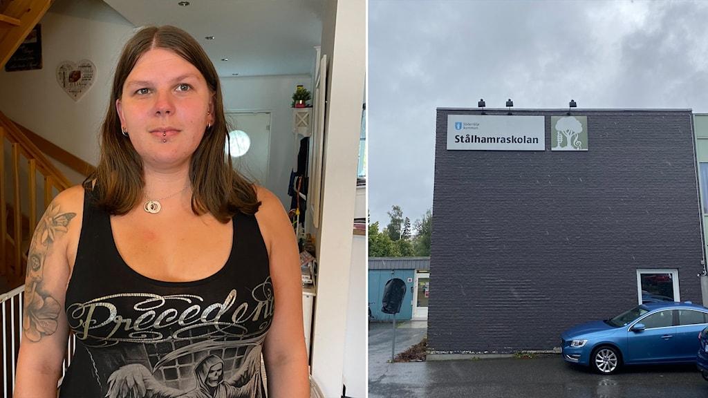 Jenna Laakso ja Stålhamran koulu Södertälje.