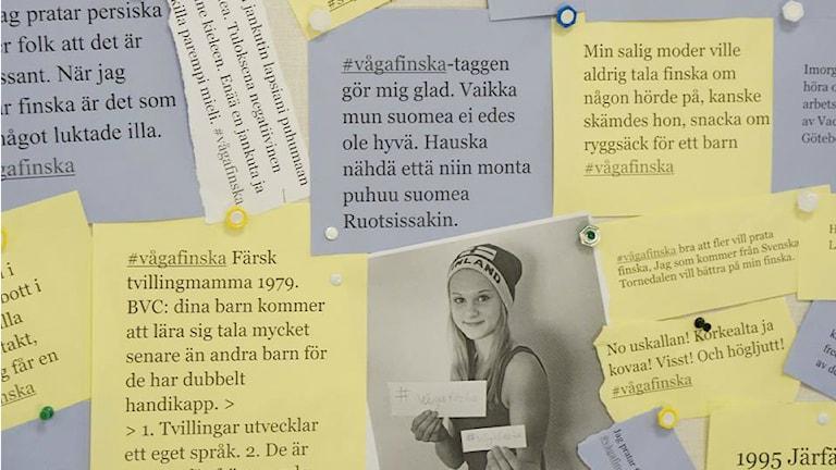 #vågafinska. Foto:  Lotta Hoppu  / Sveriges Radio Sisuradio