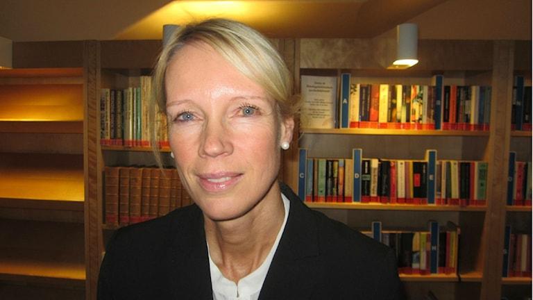 Riksdagsledamot Saila Quicklund (M)