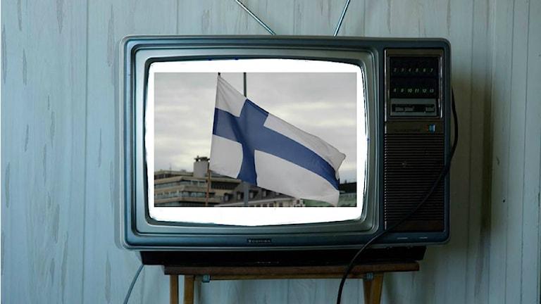 Tv Finland. Foto: dailyinvention/flickr/CC by 2.0 (redigerat)