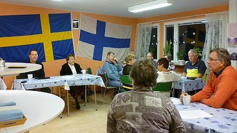 Suomi-seura. Foto: Merja Laitinen / Sveriges Radio Sisuradio