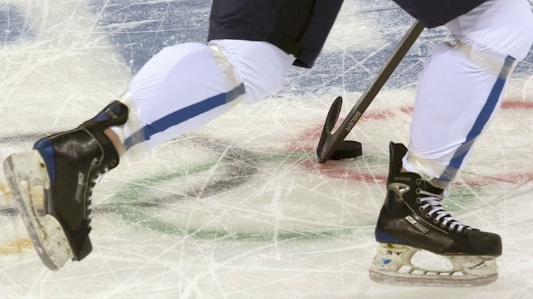 Naisten jääkiekkoa / Damhockey. Kuva/Foto: J.David Ake, TT Bild