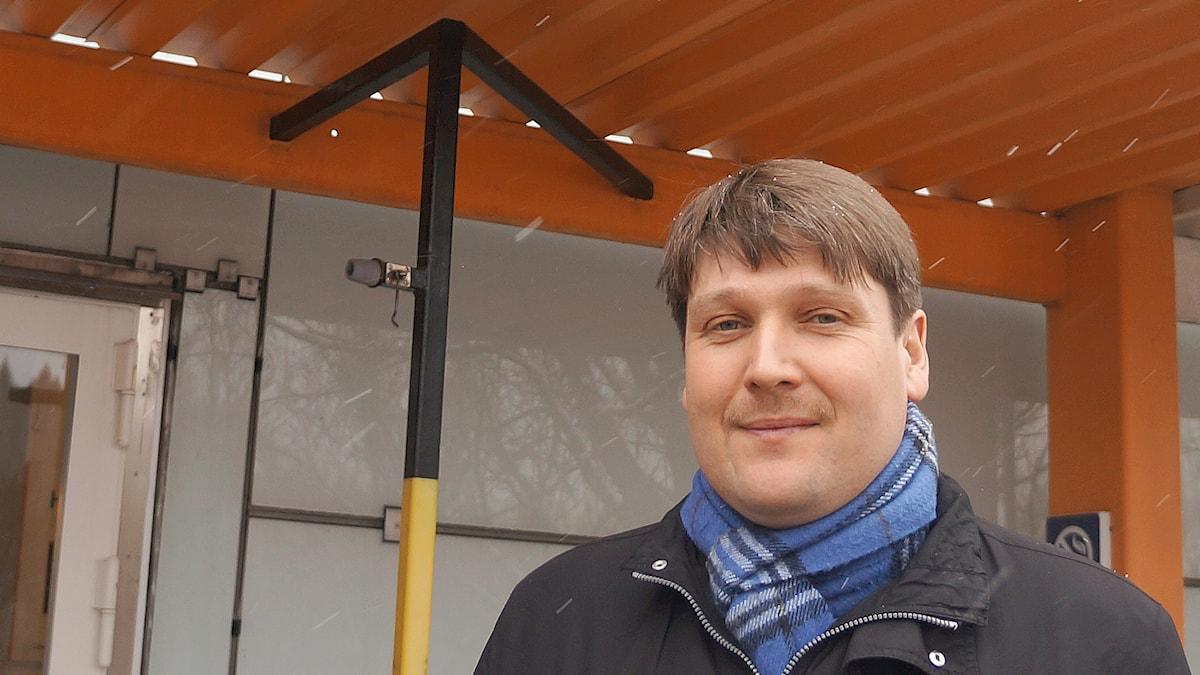 Tukholman yliopiston historian professori Marko Lamberg. Foto: Marja Siekkinen
