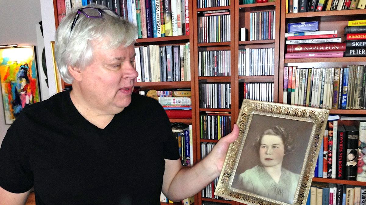 Pentti Lehtonens mamma bytte sitt förnamn Inkeri till Ingeborg och ville gärna smälta in i Sverige. Foto: Virpi Inkeri/SR