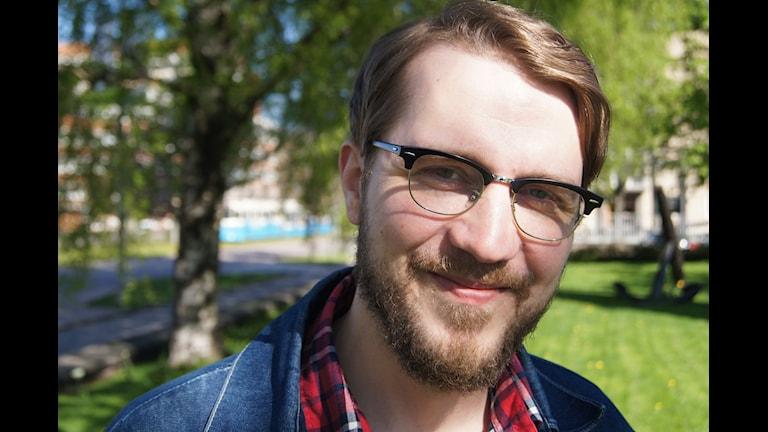 Viktor Fors Mäntyranta. Foto: Pekka Kenttälä/Sveriges Radio.
