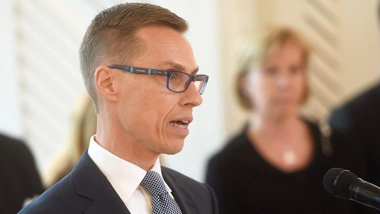 Alexander Stubbin hallitus nimitettiin tehtäväänsä. Foto: Vesa Moilanen / AP Photo/ Lehtikuva