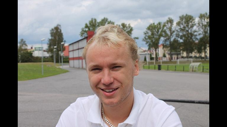 Andreas Hookana, kuva Pekka Ranta, Sveriges Radio.