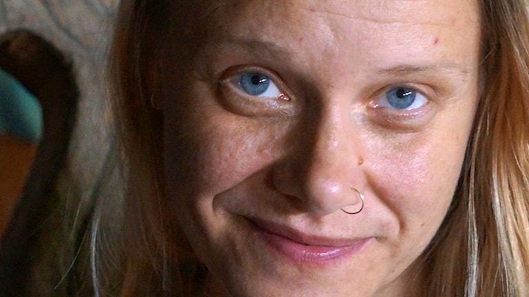 Kolina van den Berg foto: Kirsi Blomberg Sveriges Radio Sisuradio