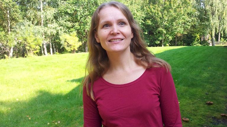 Anoo Niskanen.  Kuva:Ulla Rajakisto/Sveriges Radio Sisuradio