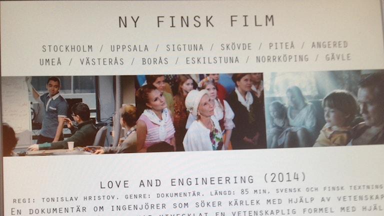 Syksyn 2014 suomalaiset elokuvat Ruotsissa. Foto: Sveriges Radio
