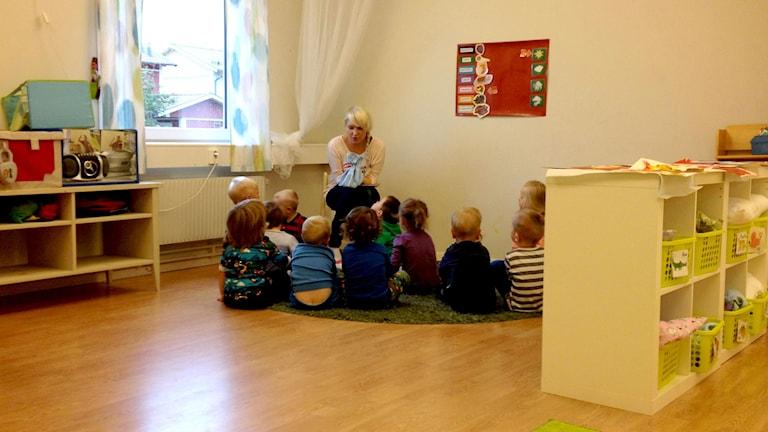 Botkyrkan ruotsinsuomalaisen koulun esikoulu. Kuva/Foto: Kaisa Vuonokari
