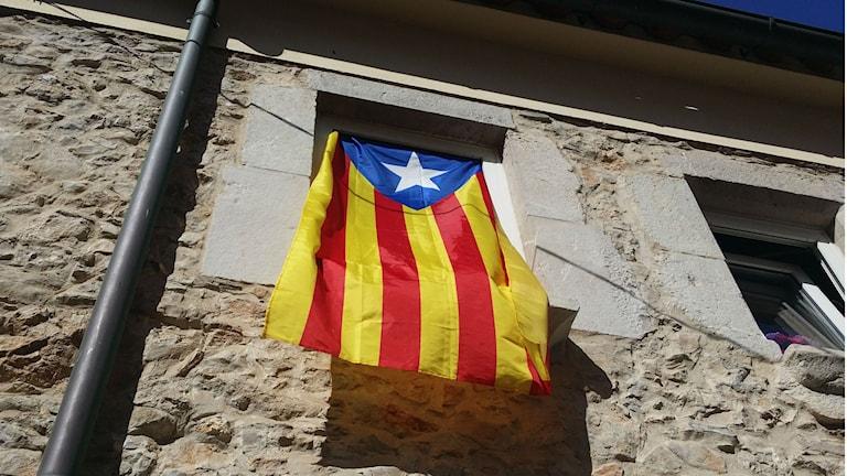 Katalanska flagga