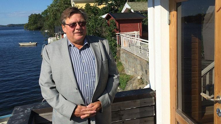 Heikki Mäkivirta. Kuva/Foto: Jorma Ikäheimo/Sveriges Radio Sisuradio.